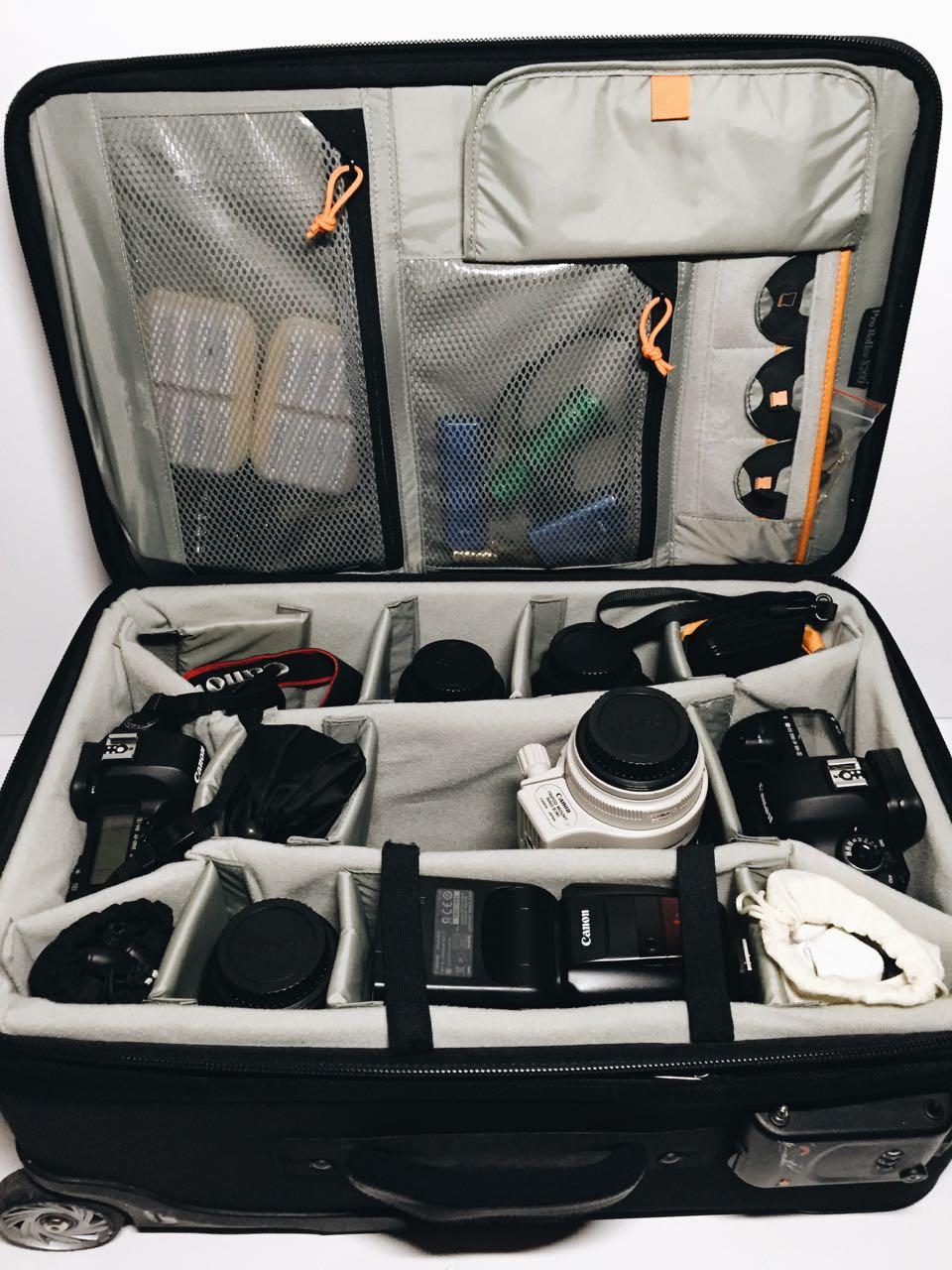 Camera equipment bag - LowePro x200