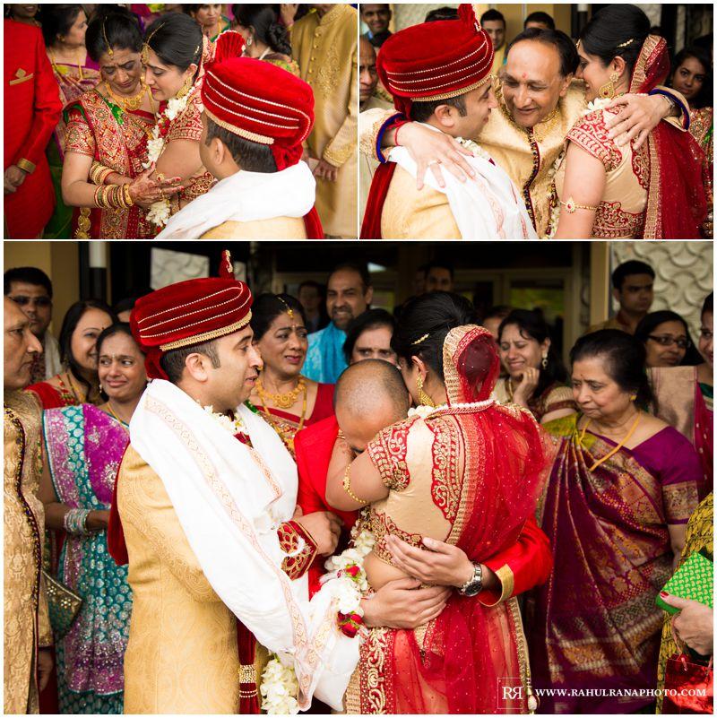 Puja Neel - Chicago Marriott O'Hare - Indian Wedding -  Vidaai