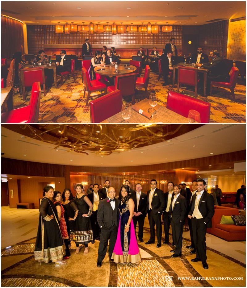 Puja Neel - Chicago Marriott O'Hare - Indian Wedding -  Bridesmaids Groomsmen