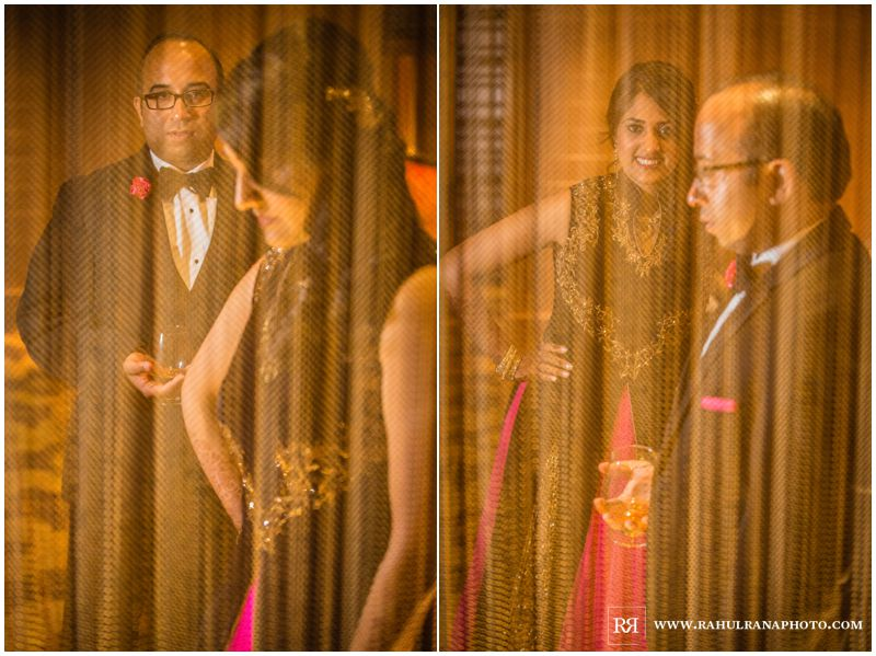 Puja Neel - Chicago Marriott O'Hare - Indian Wedding -  Bride Groom Portraits