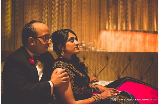 Puja Neel - Chicago Marriott O'Hare - Indian Wedding - Bride Groom Portraits - Rahul Rana Photography