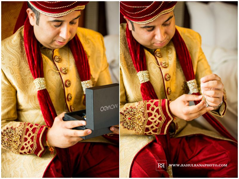 Puja Neel - Chicago Marriott O'Hare - Indian Wedding - Groom Getting Ready