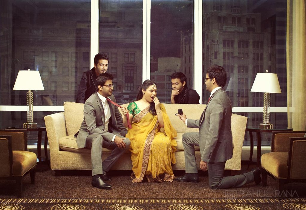 Chicago Trump Hotel - Engagement Session - Anu Chetan - Rahul Rana