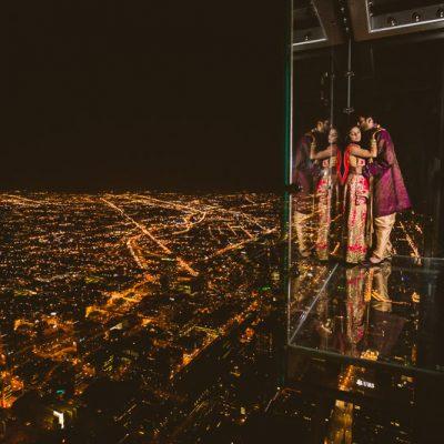 Vidhi & Neel - Willis Tower & Pearl Banquets - Chicago Indian Wedding - Rahul Rana