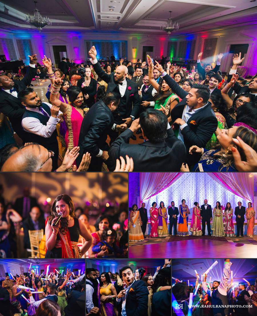 Ritz Carlton Tysons Corner - DC Reception Dancing - Rahul Rana Photography