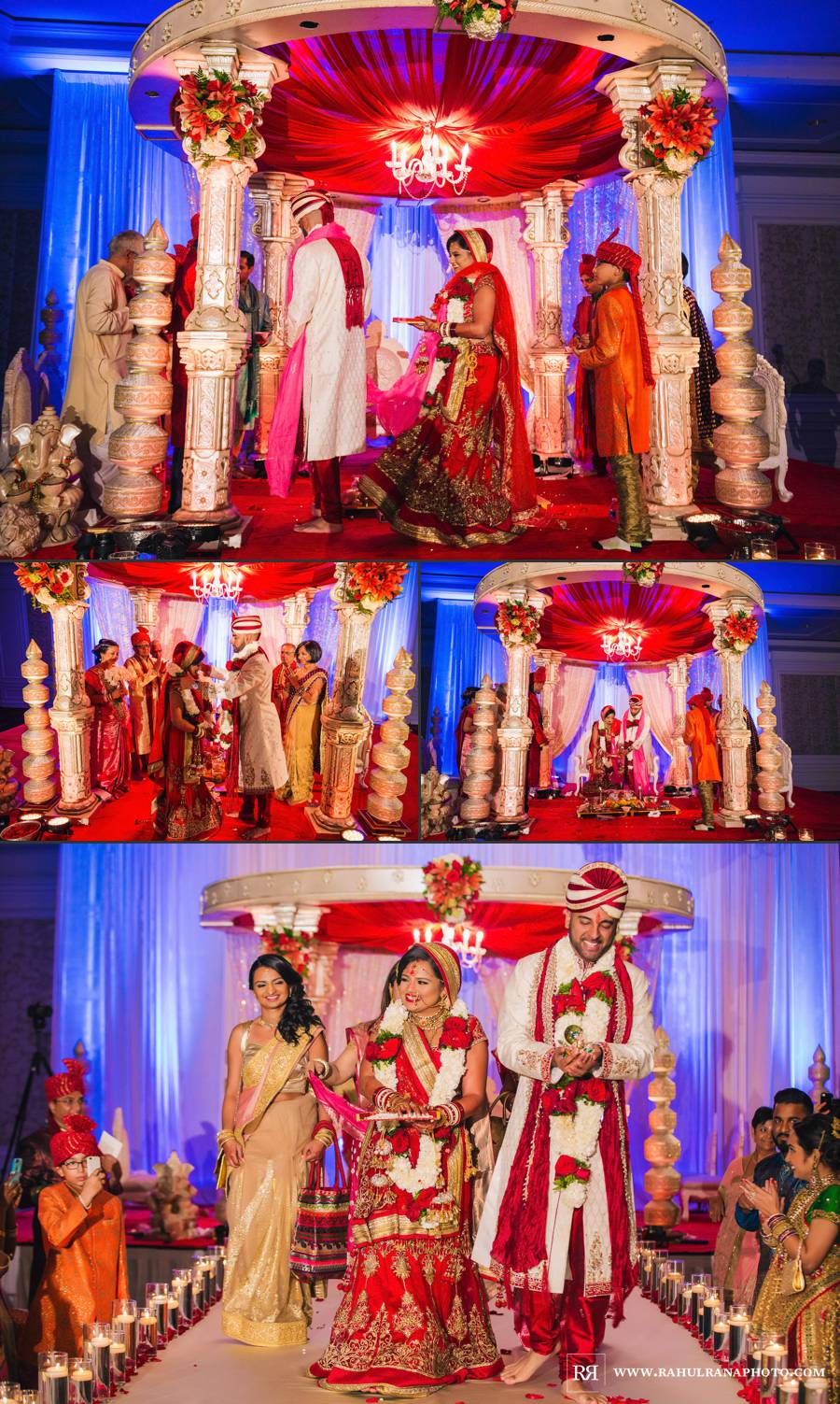 Ritz Carlton Tysons Corner - Virginia Gujarati Hindu Wedding Ceremony - Rahul Rana Photography