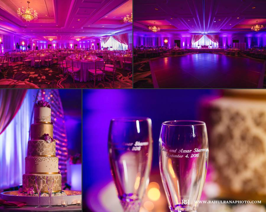 Ritz Carlton Tysons Corner - Virginia Indian Reception Decor - Rahul Rana Photography