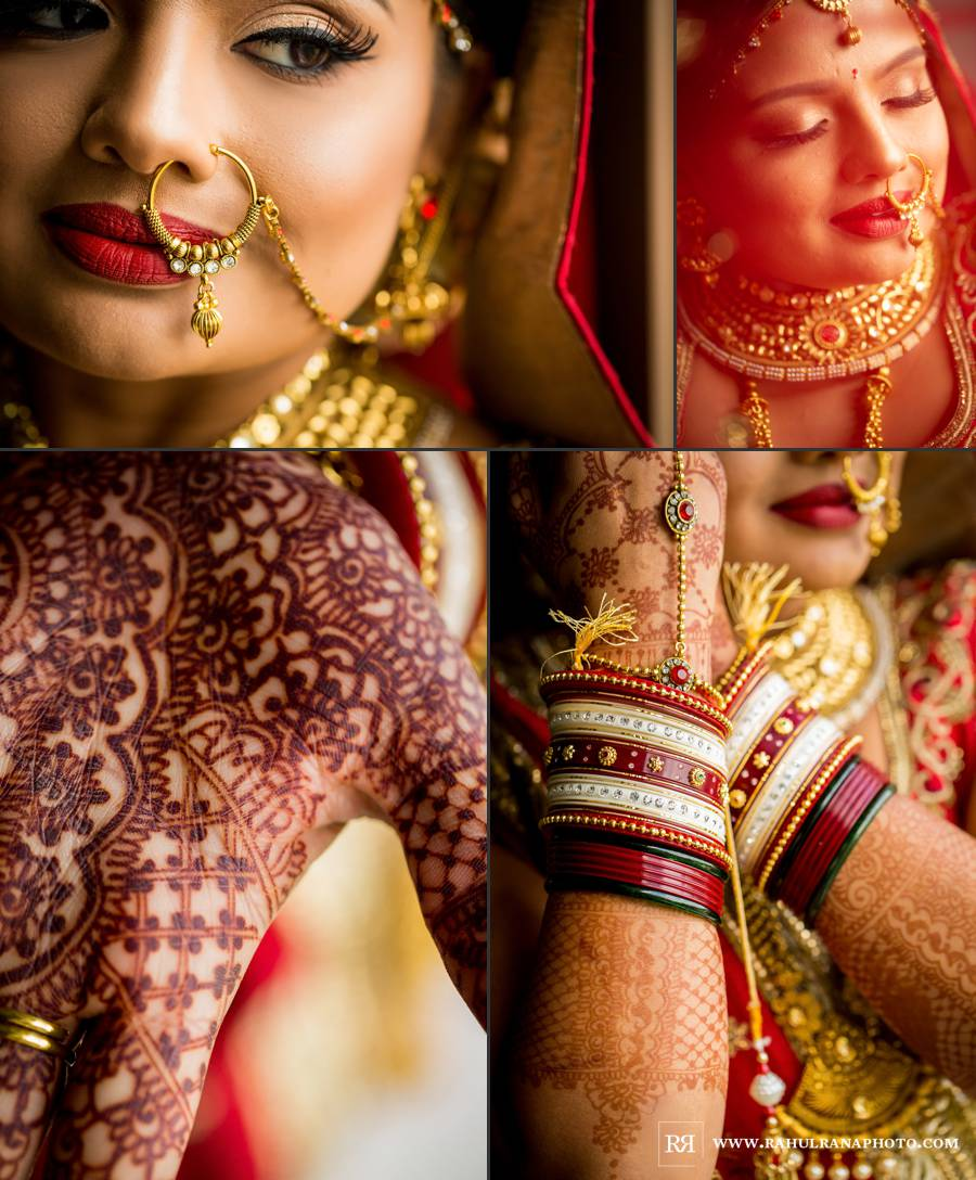 Ritz Carlton Tysons Corner - Washington DC Indian Bride Details - Rahul Rana Photography