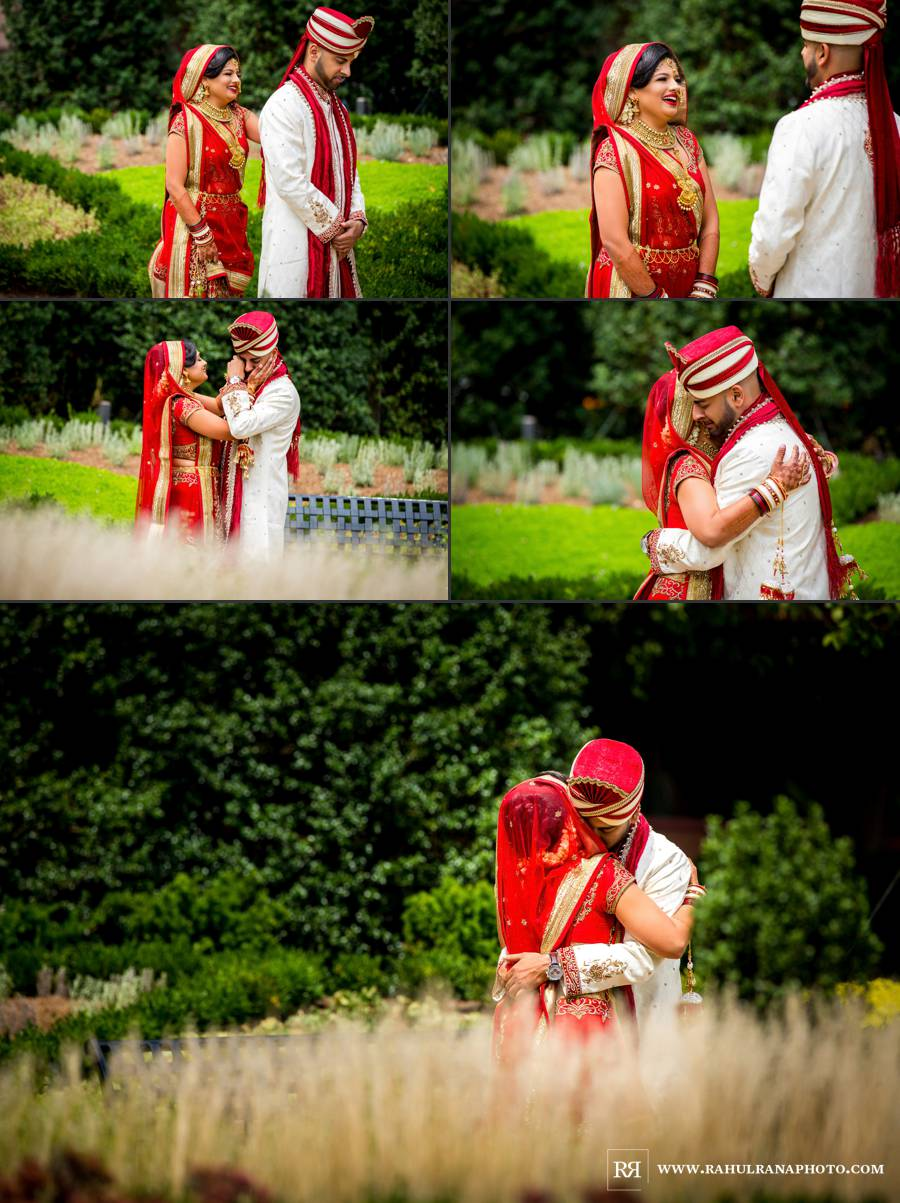 Ritz Carlton Tysons Corner - Washington South Asian Wedding - First Look - Rahul Rana Photography