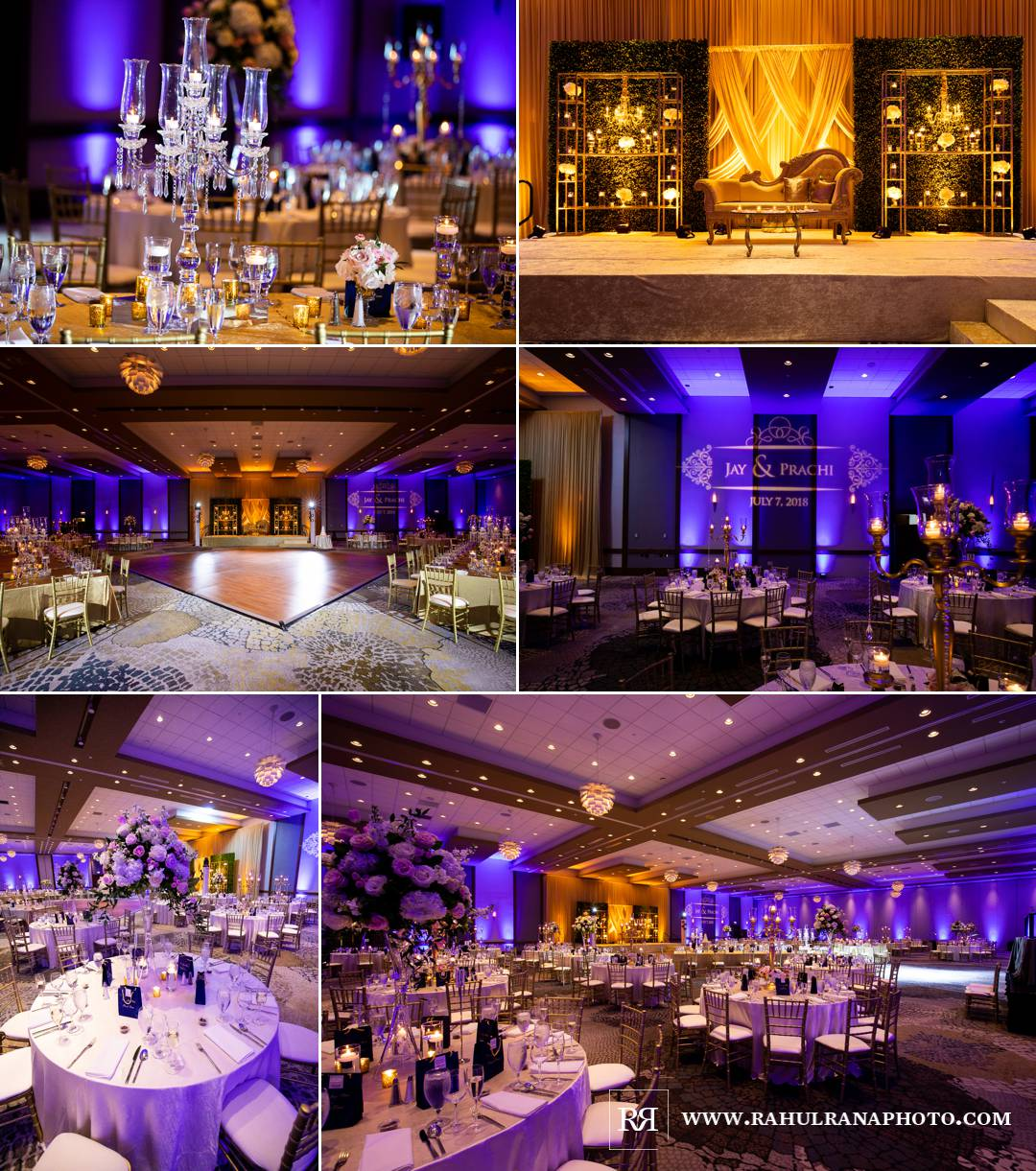 Westin North Shore - Wheeling Indian Wedding - Shaadi Creations Decor - Rahul Rana Photo