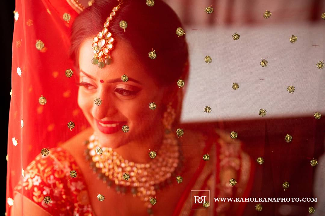 Westin North Shore - Wheeling Indian Wedding - Bride Getting Ready - Rahul Rana Photo