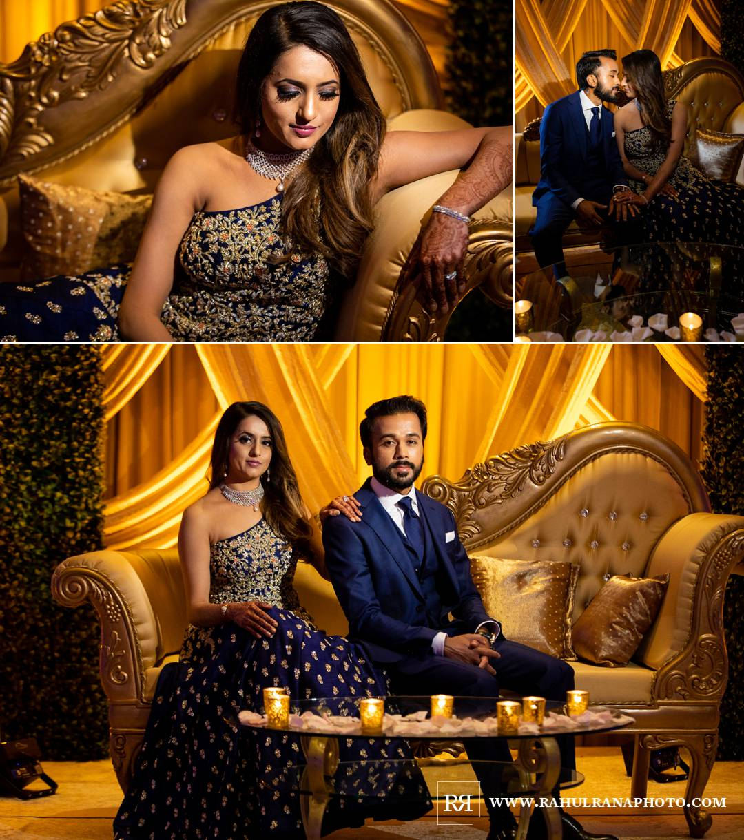 Westin North Shore - Wheeling Indian Wedding - Reception Portraits - Rahul Rana Photo