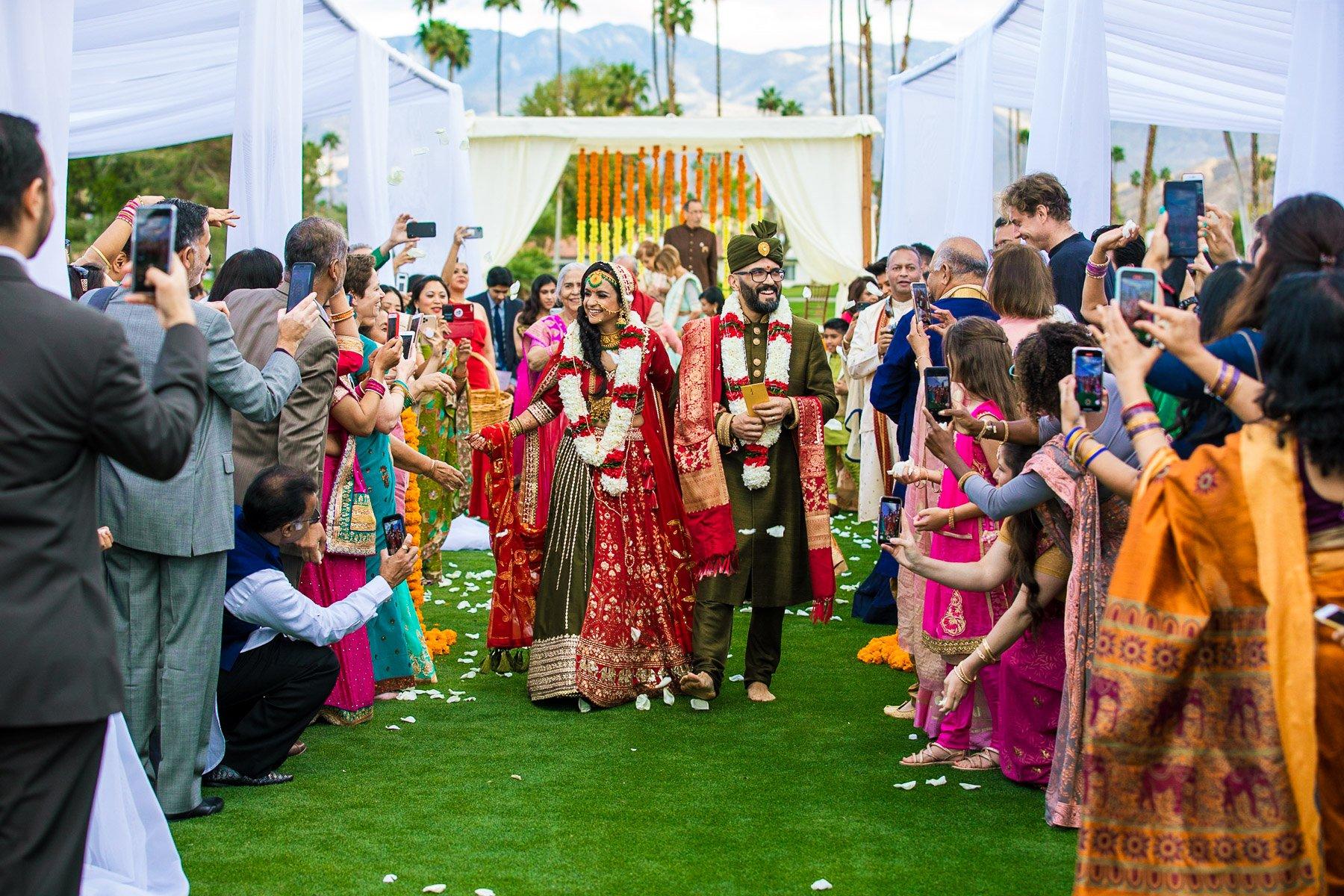 Palm Springs Wedding - Omni Rancho Resorts California - Sheena Julio Vidaai - Rahul Rana Photography